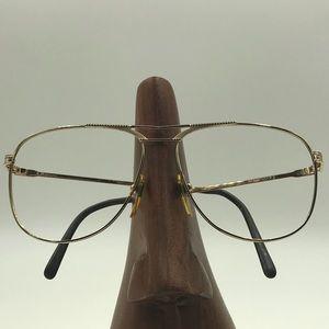 Marchon Gold Aviators Sunglasses Eyeglasses Frames